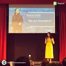 Global impact - Ramona J. Smith 2018 World Champion of Public ...