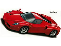 Enzo Ferrari 2002 Wall Decal