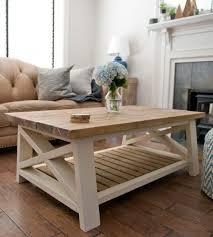 ax coffee table farmhouse style