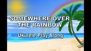Ukulele - Somewhere Over The Rainbow - Ukulele Play Along - Israel ...