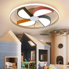 2020 Modern Led Ceiling Light Kids Baby Room Round Windmill Lights For Children Room Bedroom Boys Girls Lighting Home Ceiling Lamp From Cuyer 114 2 Dhgate Com