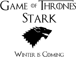 House Stark Winter Is Coming Logo Game Of Thrones Die Cut Vinyl Sti Blasted Rat