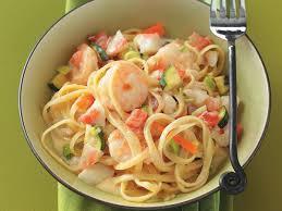 Seafood Pasta Alfredo Recipe