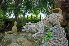 secret buddha garden in samui koh