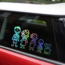 Interesting Hawaiian Family Car Stickers Covering The Body Of Fashion Vinyl Decals Silver C7 1493 Stickers Bear Sticker Bathroomstickers Strass Aliexpress