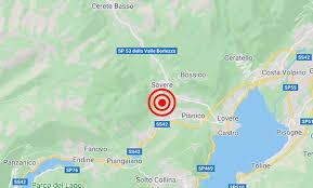 Terremoto in provincia di Bergamo, scossa 2,5 gradi a Sovere ...