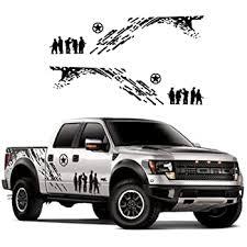 Amazon Com Giftcity Car Decals 1 Set Army Decal Car Sticker Decals Car Decal Vinyl Car Body Deca Universal Scratch Hidden Car Stickers Black Automotive