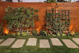 Backyard Fence Lighting Ideas Outdoor Furniture Design And Ideas