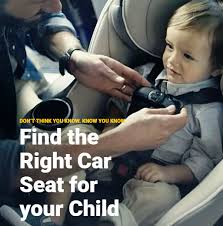 child passenger safety week with