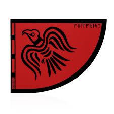 Bumper Sticker Raven Banner Grimfrost