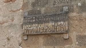 Regione Siciliana - Acquisizione Casolare Impastato