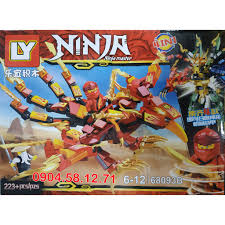 Mua Đồ chơi LEGO Ninja Cao thủ Ninja 4 trong 1 - LY68093 chỉ ...