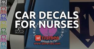 Car Decals For Nurses Qd Nurses
