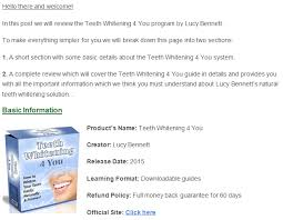 teeth whitening 4 you review the best