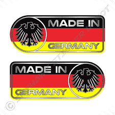 Bayern Germany Oval Sticker With German Flag Bumper Decal Car Bike Tablet Archives Midweek Com