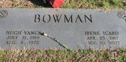 Hugh Vance Bowman (1919-1972) - Find A Grave Memorial