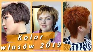 Top 20 Modne Kolor Wlosow 2019 Youtube