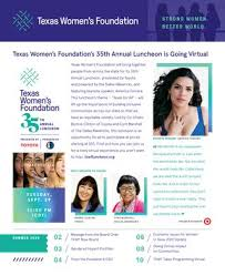 Summer 2020 Newsletter by Texas Women's Foundation - issuu