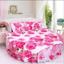 round bed luxury bedding set cotton