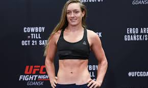 Aspen Ladd officially off UFC 235 after Holm Holm fight scratch