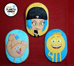 Emojis Shimmer Shine Y Vaiana En Galletas Planeta Cookie