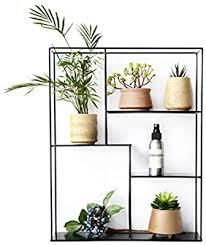 plant stands plant shelf iron metal