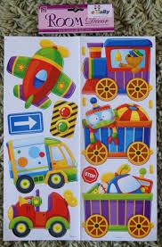 Train Plane Aeroplane Truck Car Wall Stickers Kids Boys Baby Decals Bedroom For Sale Online Ebay
