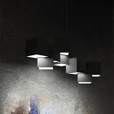 cube pendant lights 63cm 90cm