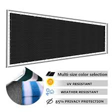 Privacy Fence Screen Mesh For Balcony Patio Porch Deck Garden Outdoor Uv Protection Shopee Philippines