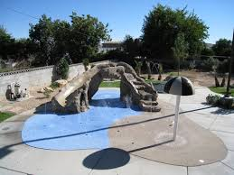 residential splash pads landscaping