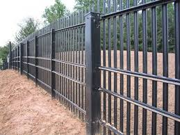 Security Fence Ideas Security Fence Fencing Gates Steel Planters