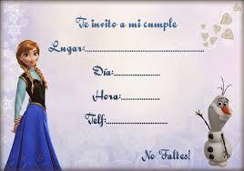 Pin De Invitacionesde Com En Invitaciones De Frozen Invitaciones