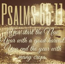 bible quotes on psalms you start the new year