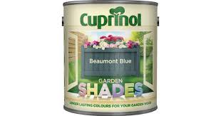 Cuprinol Garden Shades Wood Paint Blue 1l Compare Prices Now