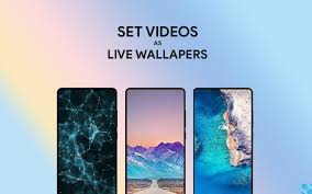 how to set videos as live wallpapers on