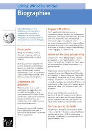file editing articles biographies pdf