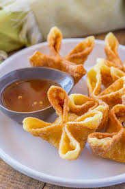 Crab Rangoon - Dinner, then Dessert