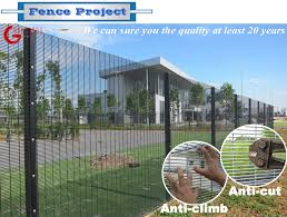 China 358 Anti Climb Fence Price Square Mesh Cyclone Wire Fence Price Philippines Manufacturers And Suppliers Hua Guang