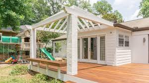 an arbor a pergola a patio cover is