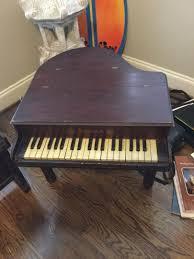 antique baby grand schoenhut toy piano