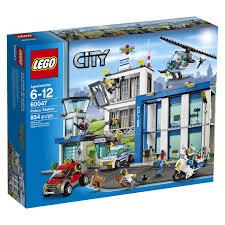 Amazon.com: LEGO City Police 60047 Police Station: Toys & Games ...