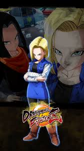 dragon ball fighterz android 18
