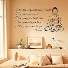 Best And Coolest 21 Buddha Wall Stickers Decor Job