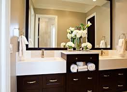 espresso bathroom cabinets design ideas