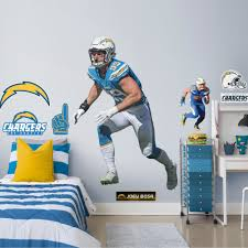 Fathead Joey Bosa Life Size Officially Licensed Nfl Removable Wall Decal Walmart Com Walmart Com