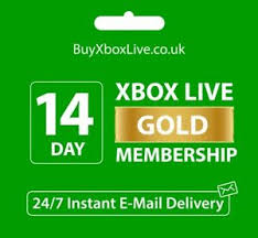 xbox live 14 day gold trial membership