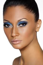 smokey eyes for dark skin