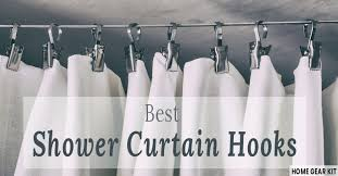 best shower curtain hooks and rings