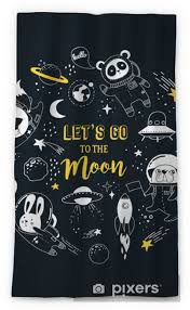 Outer Space Concept Illustration Cute Animals Astronauts In Helmets Creative Nursery Designs Perfect For Kids Room Fabric Wrapping Sheer Window Curtain Pixers We Live To Change