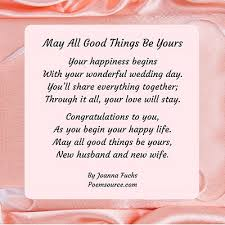 wedding poems for all aspects of the